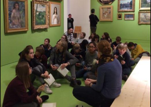Au musée d'art moderne 1