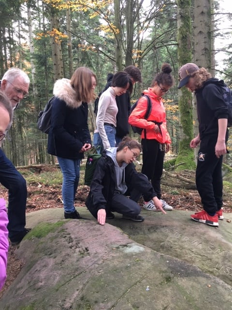 3e4 BISS VISIT WWI SITES IN THE VOSGES