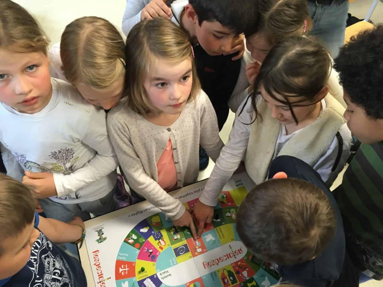 Intervention CAS – Les élèves de DP1 interviennent à Lucie Berger