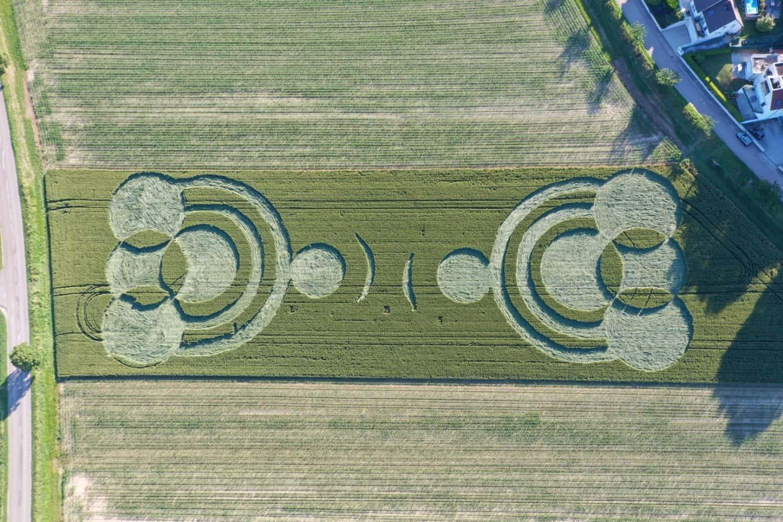 Crop Circle à Blaesheim