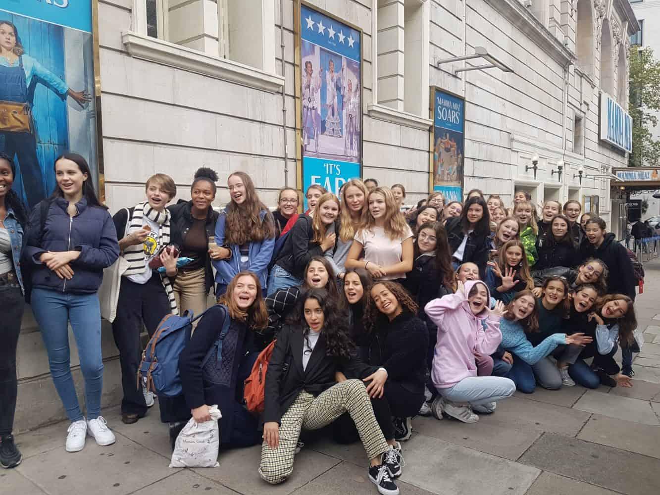 Echange Saint Marylebone School for girls