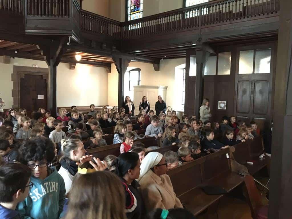 Culte de Noël pour la filière Goethe : un beau moment de partage et d'échange !