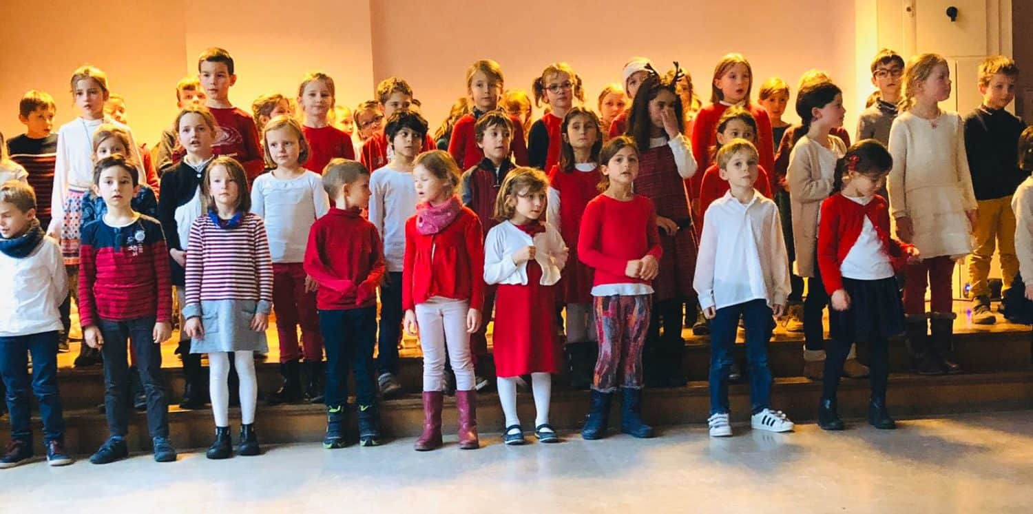 CONCERT DE NOEL DES CLASSES DE GOETHE 1, 2, 3