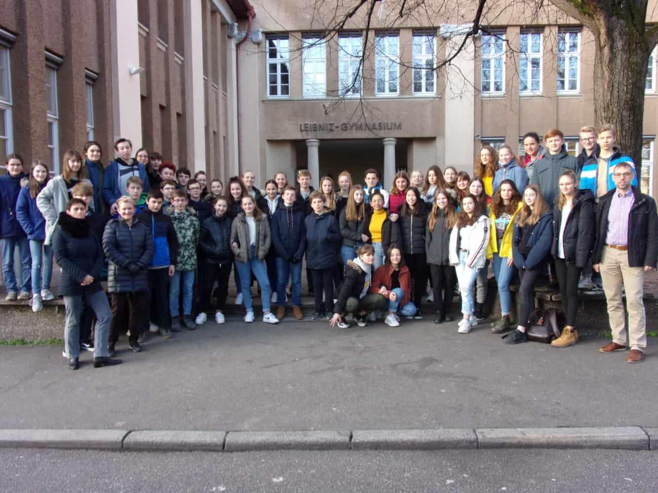 Drei schöne Tage bei den Austauschpartnern des Leibniz-Gymnasiums im Stuttgart