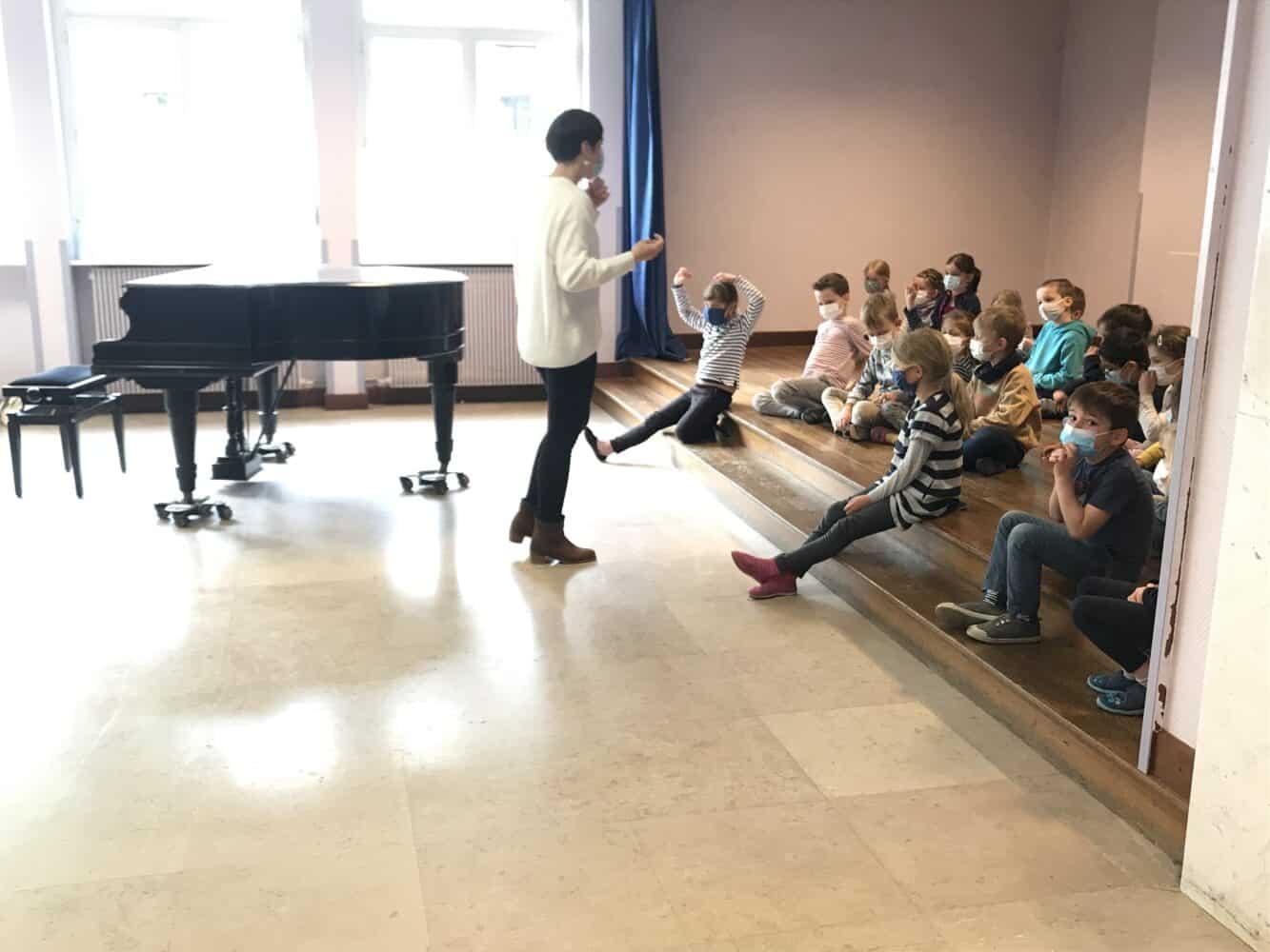 Auditions à la maîtrise de l'Opéra du Rhin